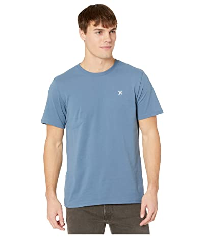 Hurley Dri-Fit Staple Icon Reflective Short Sleeve Tee (Thunderstorm) Men