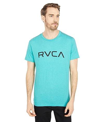 RVCA Big RVCA T-Shirt Short Sleeve (Turquoise) Men