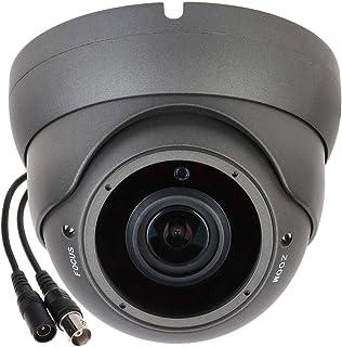 Sinis Super Hybrid 5MP(Default Output 4MP) 1080P HD-TVI/CVI/AHD/960H CCTV Surveillance Security Camera Day Night Vision Waterproof Outdoor/Indoor 2.8-12mm Varifocal Lens Metal ArrayDome Video System