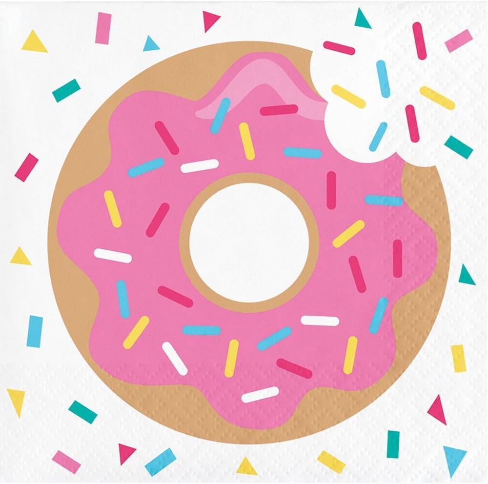 Creative Converting 192 Count Beverage Time Napkin Donut セール品 Paper セール価格