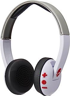 Skullcandy Uproar Bluetooth Wireless On-Ear Headphones - White/Gray/Red, S5URHW-457
