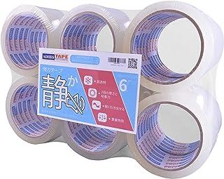 【Amazon 限定ブランド】ADHES ガムテープ 透明 梱包テープ oppテープ 静か 48mm×50m