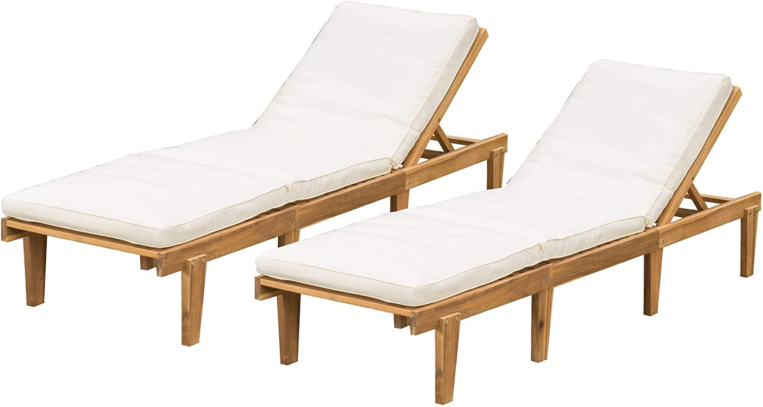 Christopher Knight Home Selling and selling Limited time for free shipping Outdoor Pool Chaise Deck Furniture Teak