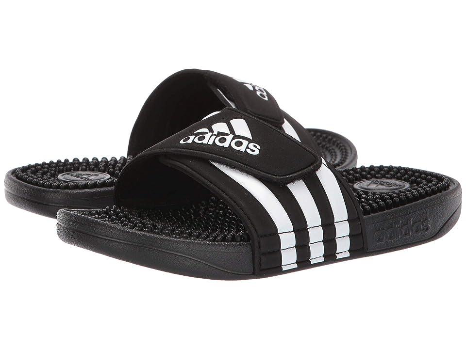 adidas Kids Adissage Slide (Toddler/Little Kid/Big Kid) (Core Black/Footwear White/Core Black) Kids Shoes