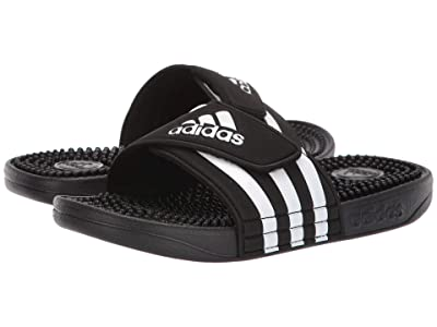 adidas Kids Adissage Slide (Toddler/Little Kid/Big Kid) (Core Black/Footwear White/Core Black) Kids Shoes