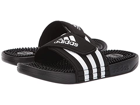 f0597604c90c adidas Kids Adissage Slide (Toddler Little Kid Big Kid) at Zappos.com