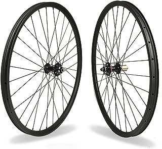 Acesports Carbon Fiber Mountain Bike Wheels 29er Clincher MTB Superlight Asymmetric Hookless Bicycle Wheelset Novatec D771-772SB Hub