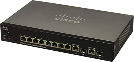 CISCO SYSTEMS Sg350 10-Port Gigabit Managed Switch (SG35010K9NA)