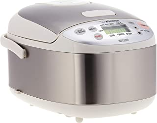 Zojirushi NS-LAQ05 Rice Cooker 0.5L (3 cups) Stainless Steel Silver