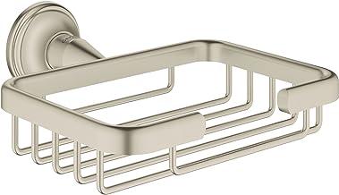 Grohe Essentials Authentic 40659EN1 Opbergmand, klein, 1 stuk, geborsteld nikkel
