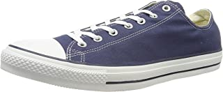 Converse Chuck Taylor All Star Unisex Sneakers, Navy, 10 US