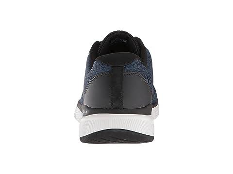 3 Skechers Blackgray Negro Flex 0 Ventaja Visitar Azul Tt7q4x
