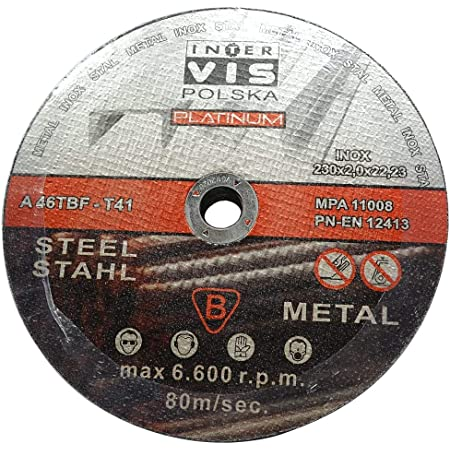Ø230 mm 10 Stück Trennscheiben 2.0mm Flexscheiben Inox Edelstahl Metall Stahl