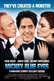MICKEY BLUE EYES MOVIE POSTER 1 Sided ORIGINAL 27x40 HUGH GRANT
