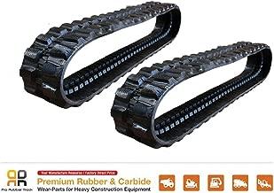 2pc Rubber Track 320x54x78 Bobcat 331 334 425 428 E26 E32 425ZTS 331E excavator