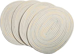 Best oval placemats washable Reviews