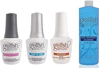 Gelish Terrific Trio Gel Polish Essentials Kit + Nail Surface Cleanser Bottle