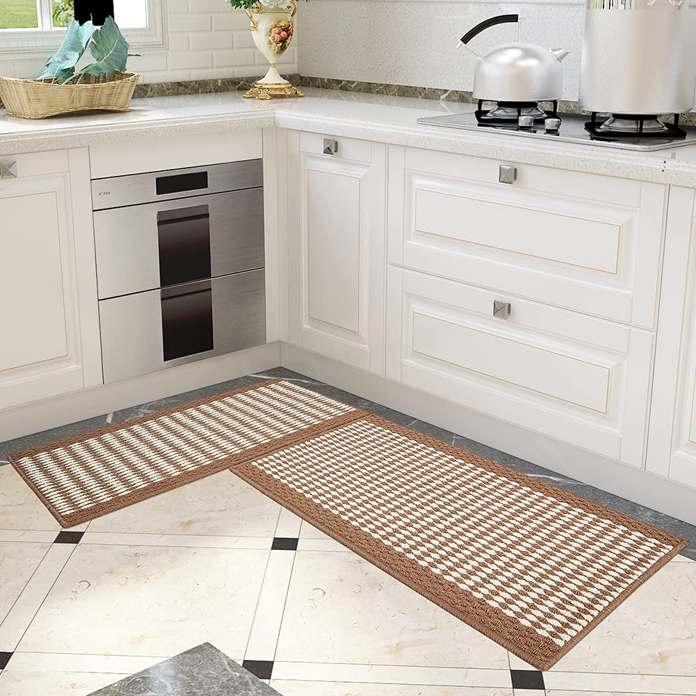Kitchen Rugs New product type and Mats Non Runner f Washable 2021 autumn and winter new Absorbent Skid