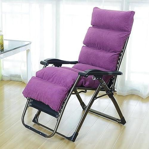 A la venta con descuento del 70%. Silla Rollsnownow Ligera Plegable de de de Color púrpura Lunch Break Lounge Chair Sleeping Chair Leisure sofá Perezoso para los Ancianos  aquí tiene la última