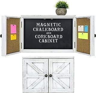Wooden Rustic Magnetic Chalkboard: 12