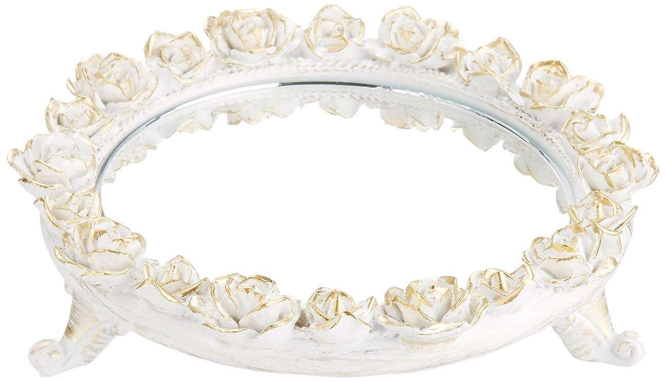 主流酸化物成果茶谷産業 White Rose Collection ミラートレー 350-803