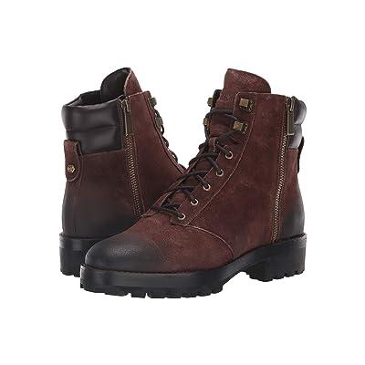 MICHAEL Michael Kors Rosario Ankle Boot (Mocha Wild Sport Suede/Nappa) Women