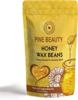 Wax beans - Hard Wax Beans for Painless Hair Removal Wax Necessities Film Hard Wax Beads : Wax Refill,11. Lbs Bag (Honey)