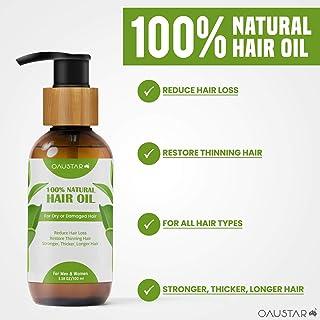 100% Natural Hair Oil-Organic Herbal Hair Growth Treatment-For All Hair Types(100&200ml)