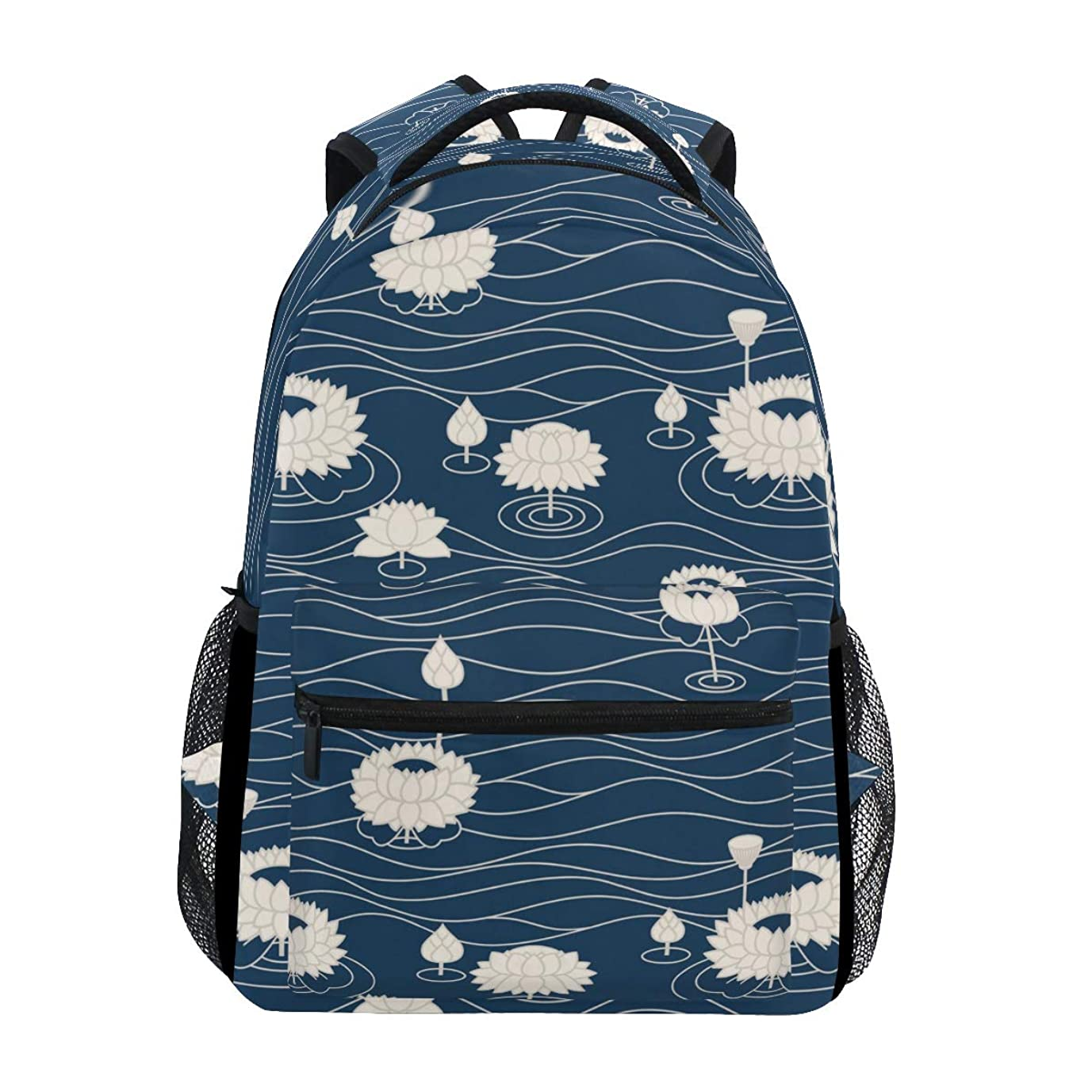 知り合いになるサイバースペース文明化するGORIRA(ゴリラ)リュックサック 高校生 可愛い 大容量 キッズ 通学 花柄 和風 リュック レディース おしゃれ 大人 防水 キャンバス 男女兼用 旅行バッグパック