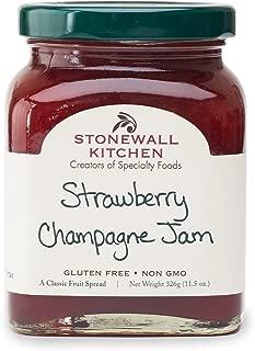 Stonewall Kitchen Strawberry Champagne Jam, 11.5 Ounce