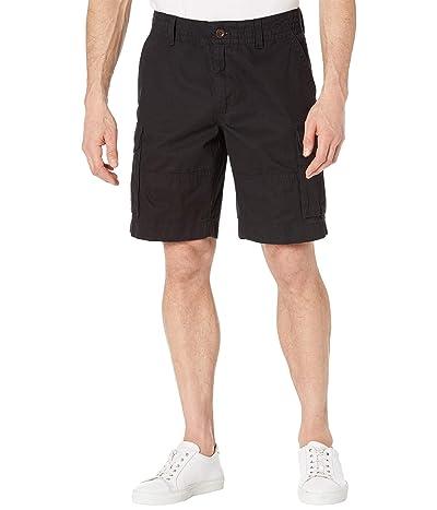 Tommy Hilfiger Six-Pocket Cargo Shorts (Th Deep Black) Men