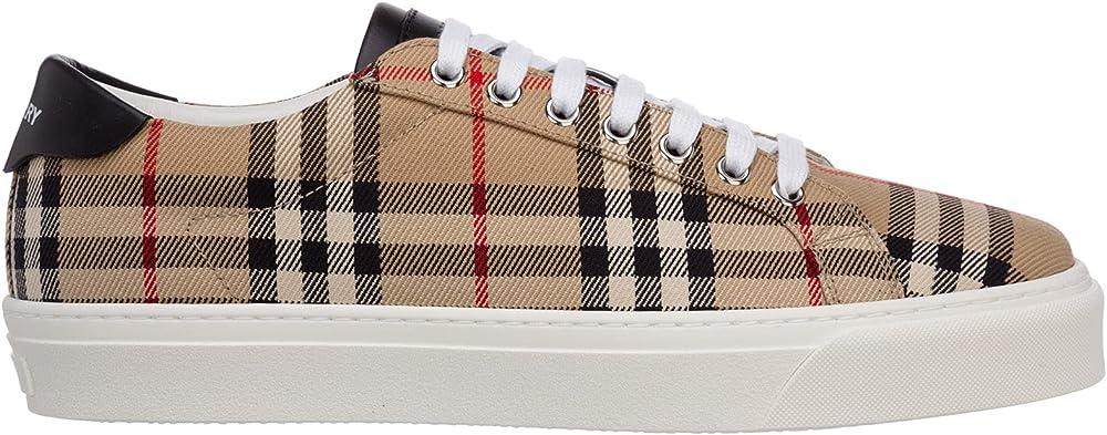 Burberry, scarpe sneakers per uomo,  in tessuto 8038185
