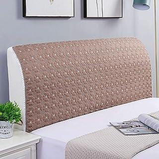Fundas de cabecero para cama doble, individual, king y queen, elásticas, fundas nobles para cabecero de cama, protector de cabecero, alta calidad (color: F, tamaño: 220 cm)