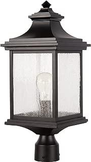 Craftmade Z3215-MN Gentry Outdoor Pier Mount Post Lantern Lighting, 1-Light 60 Watt (9