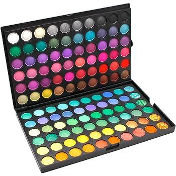DISINO Paleta de Sombra de Ojos Colección Vivo Brillante Kit de Maquillaje Caja Profesional para Maquillaje Accesorio cosmético de Belleza (Paleta de Sombra de Ojos de 120 Colores) – Dibujo 1: Amazon.es: Belleza