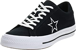Converse One Star Ox Black/White/White Unisex Adults Shoes