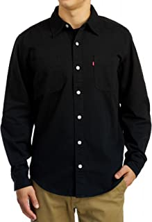 Classic Denim Workshirt - Black