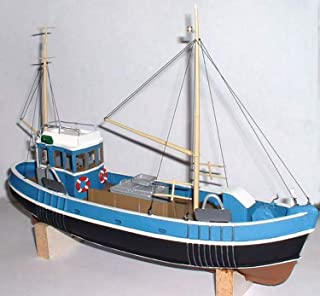 Langley Models 45ft Fishing Trawler Boat/Ship O Scale UNPAINTED kit OM1