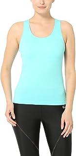 Ultrasport 1388 - Camiseta sin Mangas para Mujer, Color Blanco