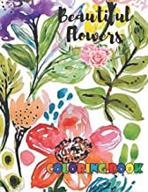 Beautiful Flowers: Coloring Book for Kids with Fun, Easy, Relaxing, Coloring Book Zinnia, Violet, Orchid, Lily, Poppies, H...