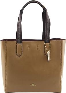 Derby Tote Leather Handbag 58660