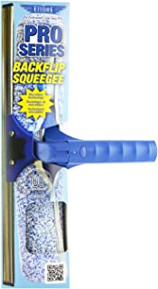 Ettore 15080 ProSeries Backflip Squeegee and Washer Scubber, 14-Inch