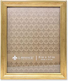 Lawrence Frames Sutter Gold 8x10 Picture Frame, 8 by 10-Inch