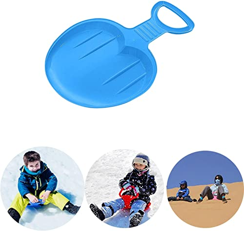 new arrival OPTIMISTIC popular Snow Sled Board Snow Skiing Pad Portable Snow Sled Sledge Downhill Ski Board for Kids Outdoor Grass Sand Slider Sled outlet online sale Portable Snowboard Sled Slider, 14x19Inch sale