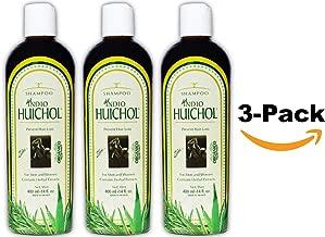 Shampoo del Indio Huichol | Hair Loss and Dandruff Treatment Shampoo for Strengthening Abundant Hair Growth and the Prevention of Dandruff; 14 Fl Oz | 3 PACK