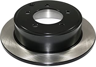 DuraGo BR90033402 Rear Solid Disc Premium Electrophoretic Brake Rotor