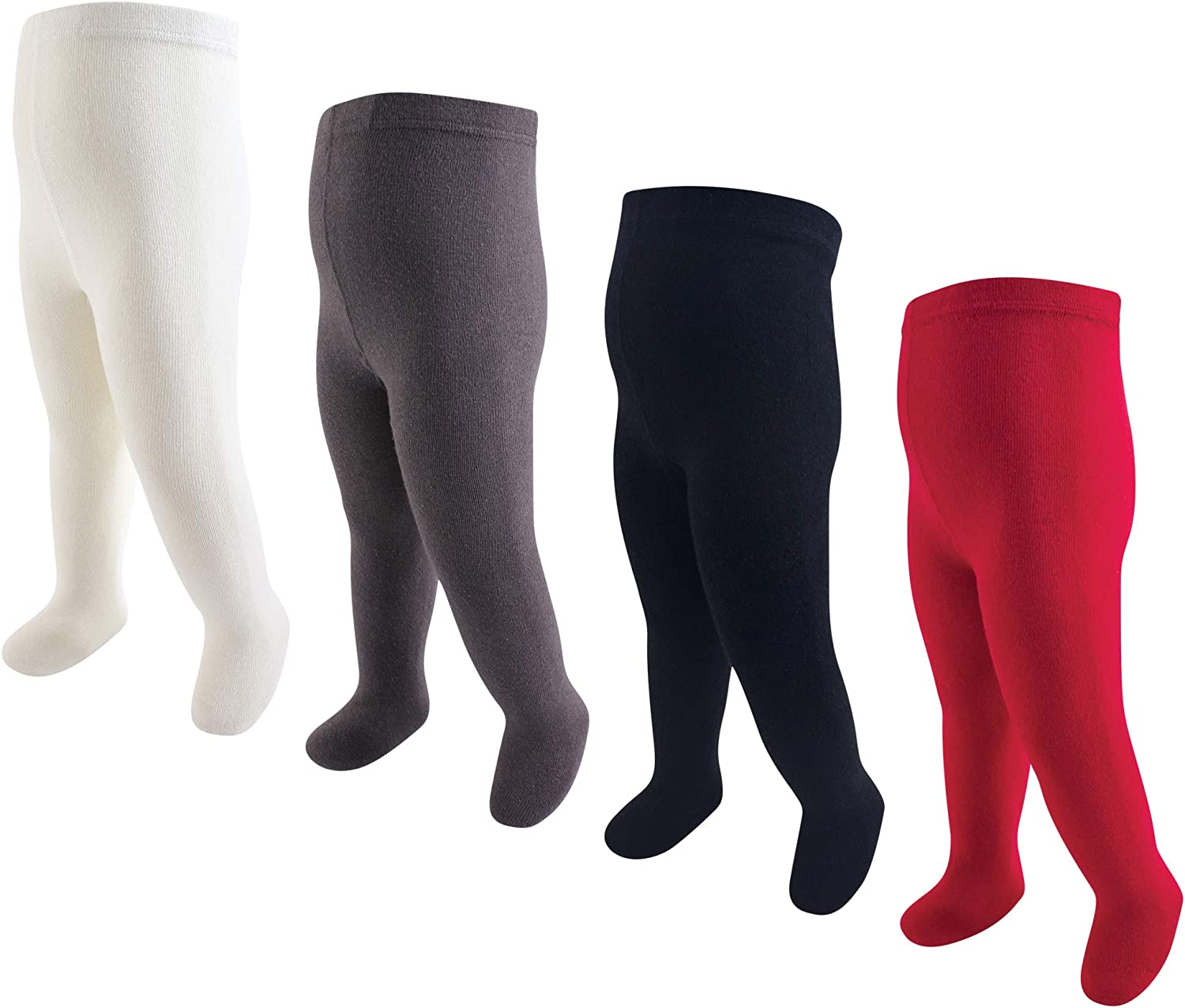 Hudson Baby baby-girls Cotton Rich Tights: Clothing