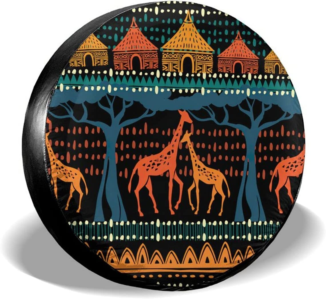 40% OFF Cheap Sale AXDF Clan Style Giraffe Spare Protection d Waterproof Cover Popular product tire
