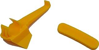 Ewandor — Peça de máquina de pneu, protetor de aro de nylon para trocador de pneu   inserção de plástico para cabeça de de...