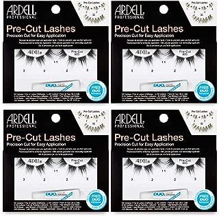 Pre-Cut False Lashes 900, 4 pack